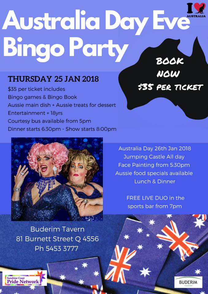Buderim Tavern Invites for Australia Day Celebration - Buderim Today